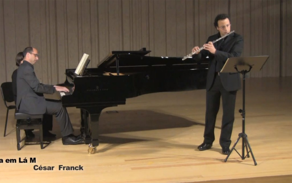 Cesar Franck - Sonata em Lá M - I Allegreto ben moderato