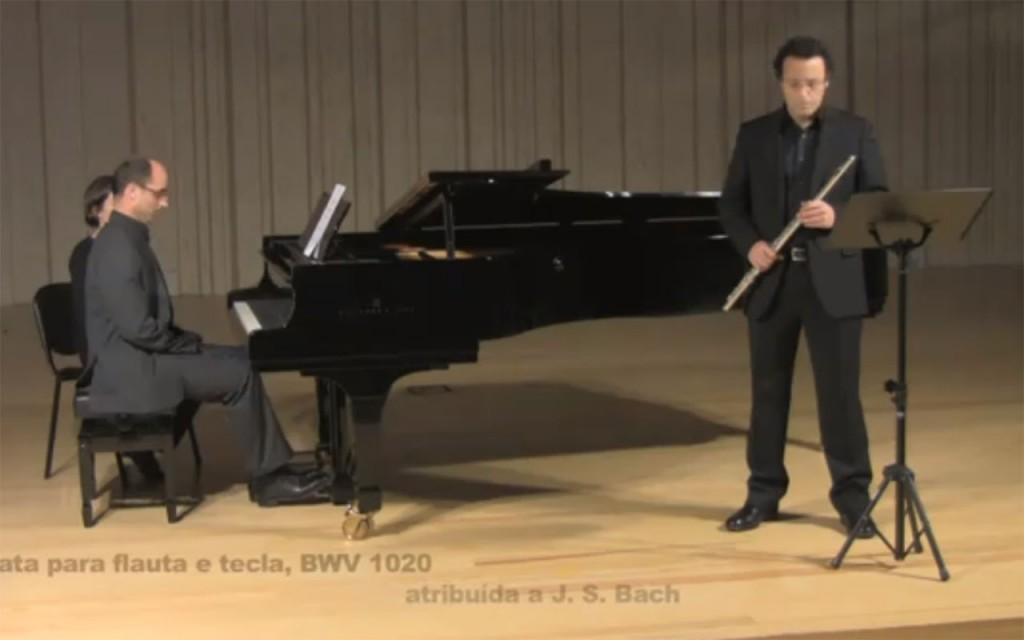 Sonata para flauta e tecla, BWV 1020, atribuída a JS Bach - I Allegro