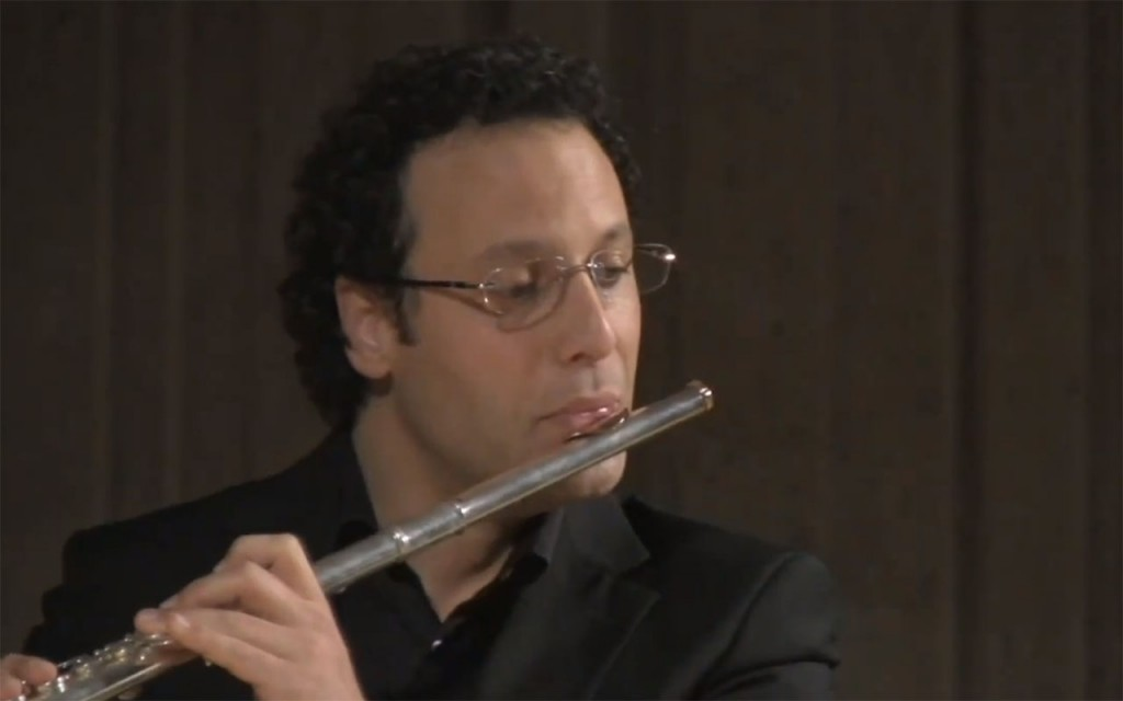 Sonata para flauta e tecla, BWV 1020, atribuída a JS Bach - II Adagio